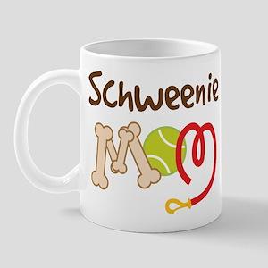 Schweenie Dog Mom Mug