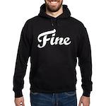 Fine Hoodie (dark)