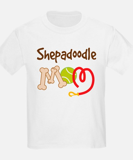 Shepadoodle Dog Mom T-Shirt