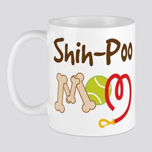 Shih-Poo Dog Mom Mug