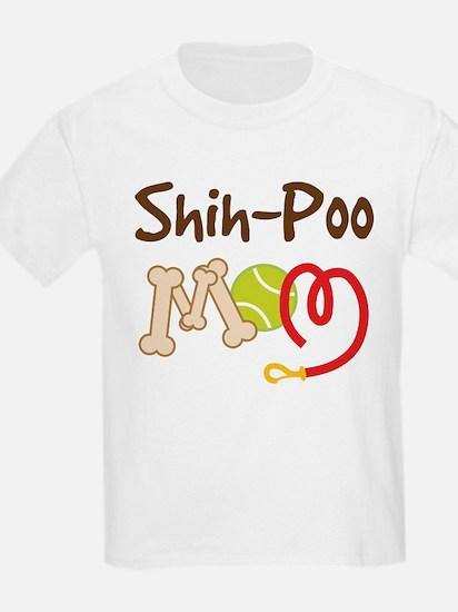 Shih-Poo Dog Mom T-Shirt