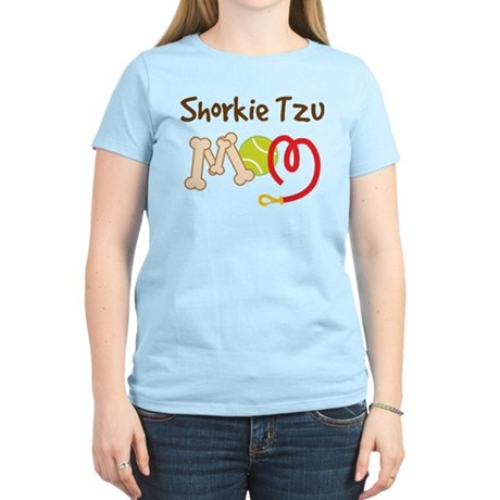 Shorkie Tzu Dog Mom Women's Light T-Shirt