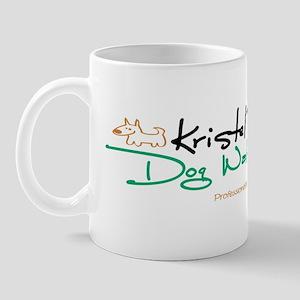 K dog walking Mug