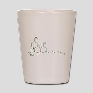Tetrahydrocannabinol THC Shot Glass