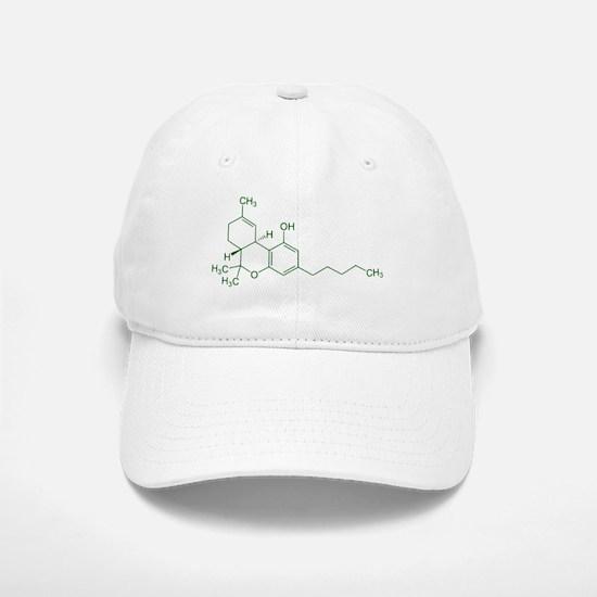 Tetrahydrocannabinol THC Baseball Baseball Cap