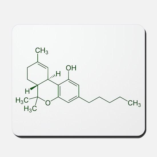 Tetrahydrocannabinol THC Mousepad