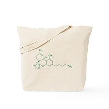 Tetrahydrocannabinol THC Tote Bag