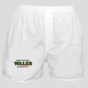 Funny Welsh designs Boxer Shorts