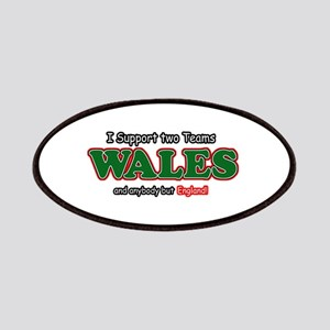 Funny Welsh designs Patches