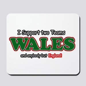 Funny Welsh designs Mousepad