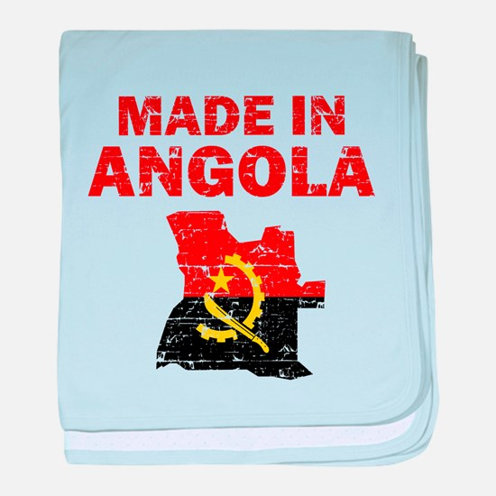 Made In Angola baby blanket