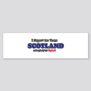 Funny Scotland Designs Sticker (Bumper)