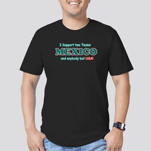Funny Mexico Designs Men's Fitted T-Shirt (dark)