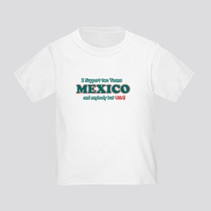 Funny Mexico Designs Toddler T-Shirt