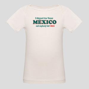 Funny Mexico Designs Organic Baby T-Shirt