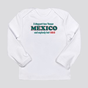 Funny Mexico Designs Long Sleeve Infant T-Shirt