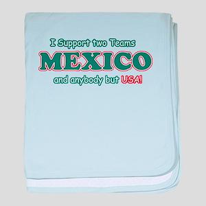 Funny Mexico Designs baby blanket