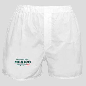 Funny Mexico Designs Boxer Shorts