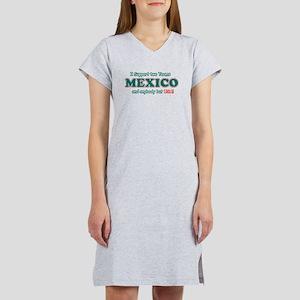Funny Mexico Designs Women's Nightshirt