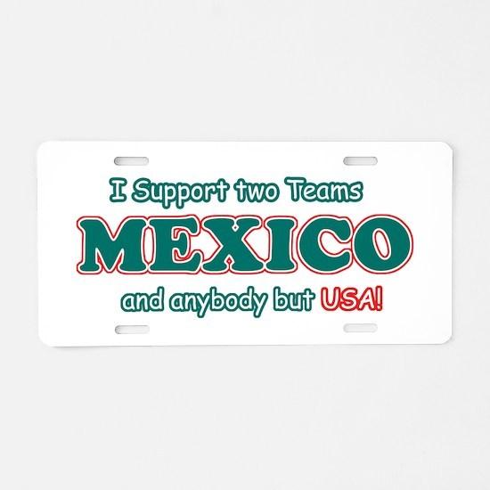 Funny Mexico Designs Aluminum License Plate