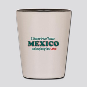 Funny Mexico Designs Shot Glass