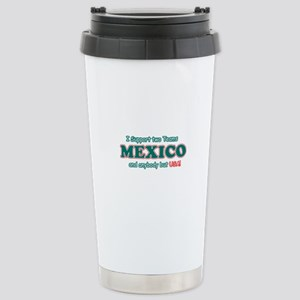 Funny Mexico Designs Stainless Steel Travel Mug