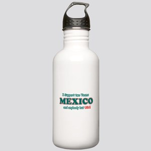 Funny Mexico Designs Stainless Water Bottle 1.0L