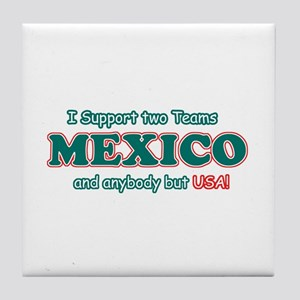 Funny Mexico Designs Tile Coaster