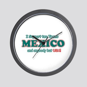 Funny Mexico Designs Wall Clock