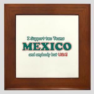 Funny Mexico Designs Framed Tile