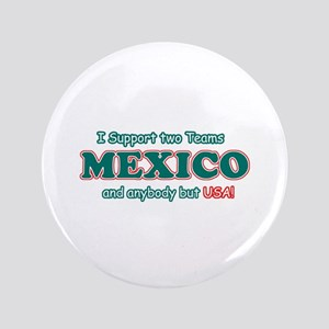 "Funny Mexico Designs 3.5"" Button"