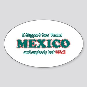 Funny Mexico Designs Sticker (Oval)