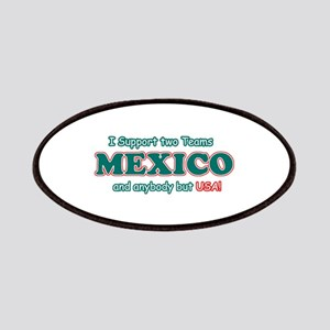 Funny Mexico Designs Patches