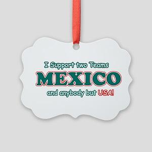 Funny Mexico Designs Picture Ornament