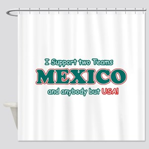 Funny Mexico Designs Shower Curtain