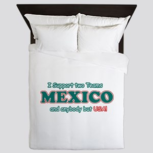 Funny Mexico Designs Queen Duvet
