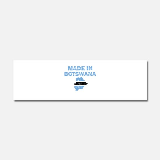 Made In Botswana Car Magnet 10 x 3