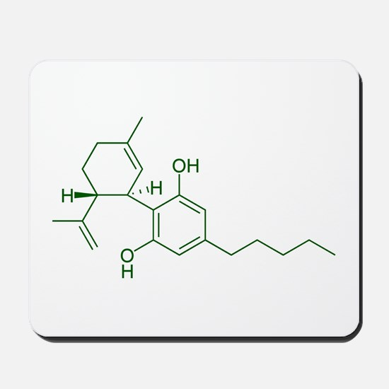 Cannabidiol CBD Mousepad