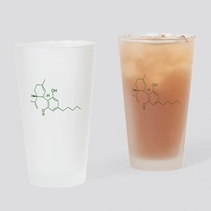 Cannabidiol CBD Drinking Glass
