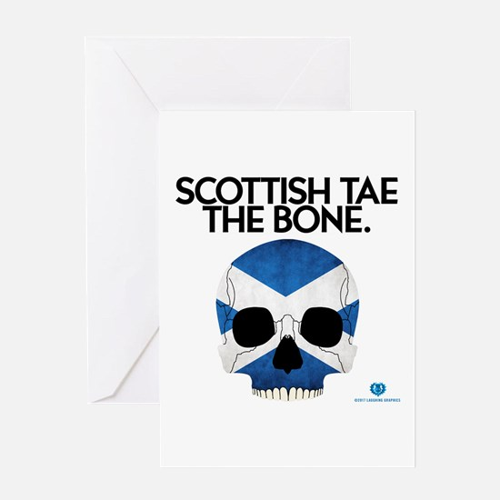 Tae The Bone Greeting Card