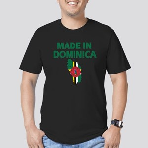 Made In Dominica Men's Fitted T-Shirt (dark)