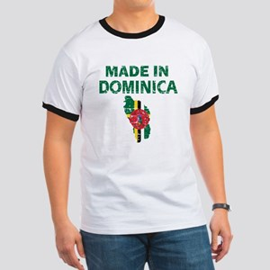 Made In Dominica Ringer T