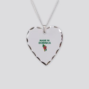 Made In Dominica Necklace Heart Charm