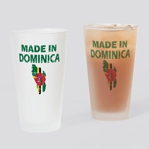 Made In Dominica Drinking Glass