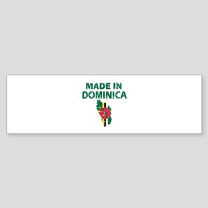 Made In Dominica Sticker (Bumper)