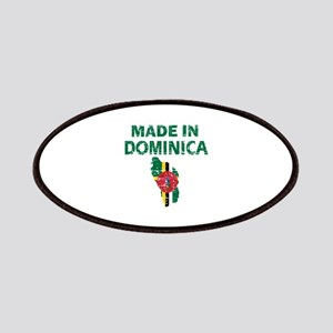 Made In Dominica Patches