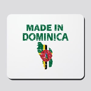 Made In Dominica Mousepad
