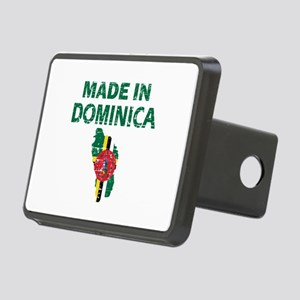 Made In Dominica Rectangular Hitch Cover