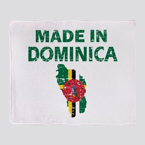 Made In Dominica Throw Blanket