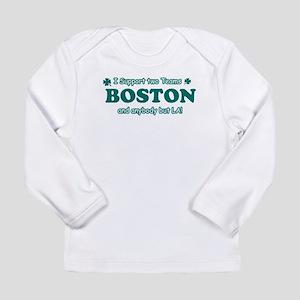 Funny Boston Designs Long Sleeve Infant T-Shirt